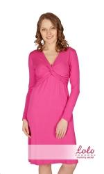 Платье, фуксия Lo-Lo dr001