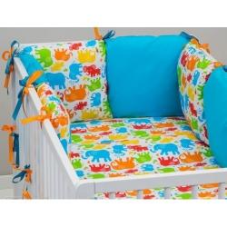 Бортики для детских кроваток, bkm 1.2