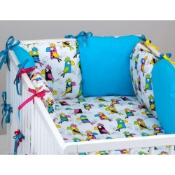 Бортики для детских кроваток, bkm 1.7
