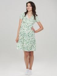 Сорочка Kelly, зеленые розы