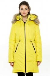 Зимняя слингопарка-пальто 3 в 1 Лайм