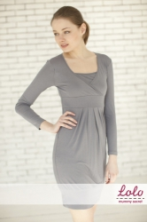 Платье ,серое Lo-Lo Dr013.3