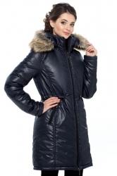 Зимняя слингопарка-пальто 3 в 1, Т. Синяя