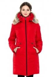 Зимняя слингопарка-пальто 3 в 1, Красная